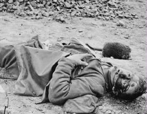 Casualty of war, Petersburg, VA (Library of Congress)